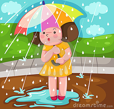 cuento infantil El lado bueno de la lluvia