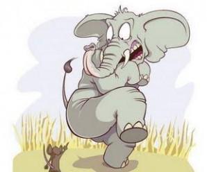 El Elefante y el Ratón